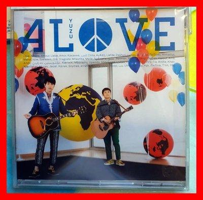 ◎2017全新CD未拆!日本國民天團「柚子」-4 LOVE-唯有愛.日常.海灘.寂寞鄉村男孩-8首好歌◎EP 日本流行-