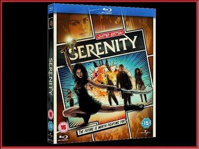 【BD藍光】衝出寧靜號:限量漫畫風格精裝紙盒版Serenity(中文字幕,DTS-HD)