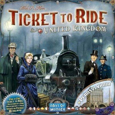 【陽光桌遊世界】(特價) 鐵道任務:英國(+賓州)擴充 Ticket to Ride–United Kingdom 德國