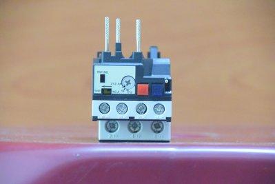 東元 積熱電驛 RHU-10/ K1 熱動過電流繼電器 過載繼電器 過載保護器 over lelay CU-18~22