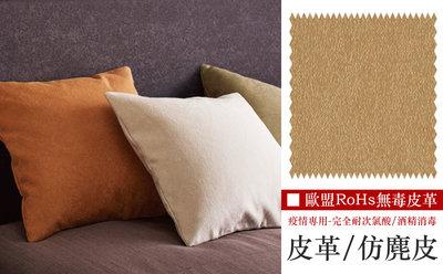 【LondonEYE】日本優質人造皮革/臥室床頭繃皮 • 極簡禪風/短毛絨皮革 疫情專用/耐次氯酸 歐盟RoHs測試數據