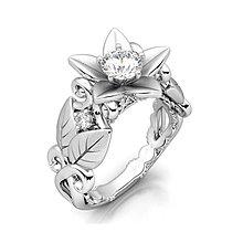 窩美歐美創意鋯石戒指 玫瑰花造型樹枝指環飾品 合金手飾美麗動人