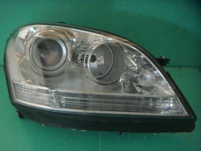 ☆小傑車燈家族☆全新高品質BENZ W164 ML350 原廠型晶鑽魚眼大燈一顆5000元