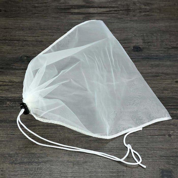 爆款熱賣-【2個裝】無紡布過濾袋中藥絲綢過濾袋 茶葉袋珍珠奶茶專用煮茶袋子