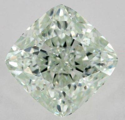 俐格鑽石珠寶批發 GIA 綠彩鑽 Fancy Green 1.05克拉 價格:洽詢