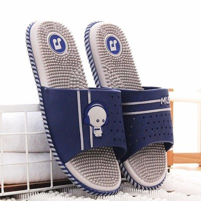 按摩拖鞋男士夏腳底按摩拖鞋女穴位家用室內防滑洗澡塑料涼拖鞋男 台北日光