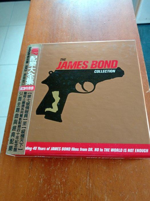 007配樂大全集-THE JAMES BOND COLLECTION 4CD  盒裝  含側標   99.99新