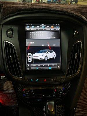 Ford 福特 Focus MK3 10.4吋豎屏專用機 Android 安卓版觸控螢幕主機 導航/USB/方控/倒車