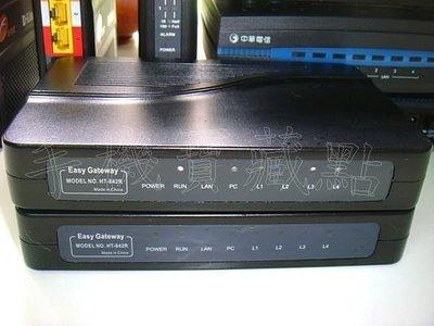 ☆得伯樂 ht-842r HT-882 VOIP SIP EASY Gateway 網路電話閘道器 功能正常 ZZ208