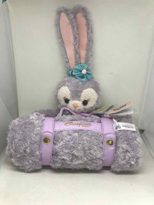 香港迪士尼限定 Stella Lou 史黛拉兔 新品絨毛毯