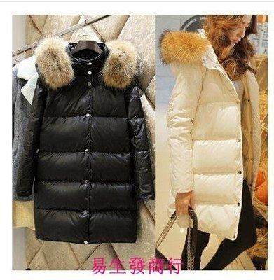 【易生發商行】代購 韓國代購冬裝外套女輕薄羽絨服羽絨服女中長款潮F6217