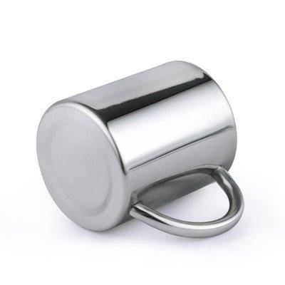 不銹鋼水杯雙層隔熱兒童杯手柄防燙幼兒園學生隨手杯JS00