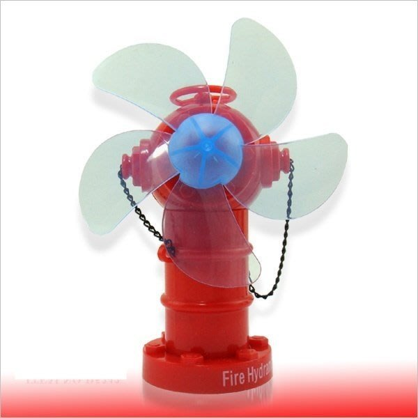 清涼一夏 No303 消防栓USB風扇 電風扇 風扇 涼扇 桌扇 立扇 迷你風扇 小風扇 涼風扇 充電扇 電扇 造型風扇