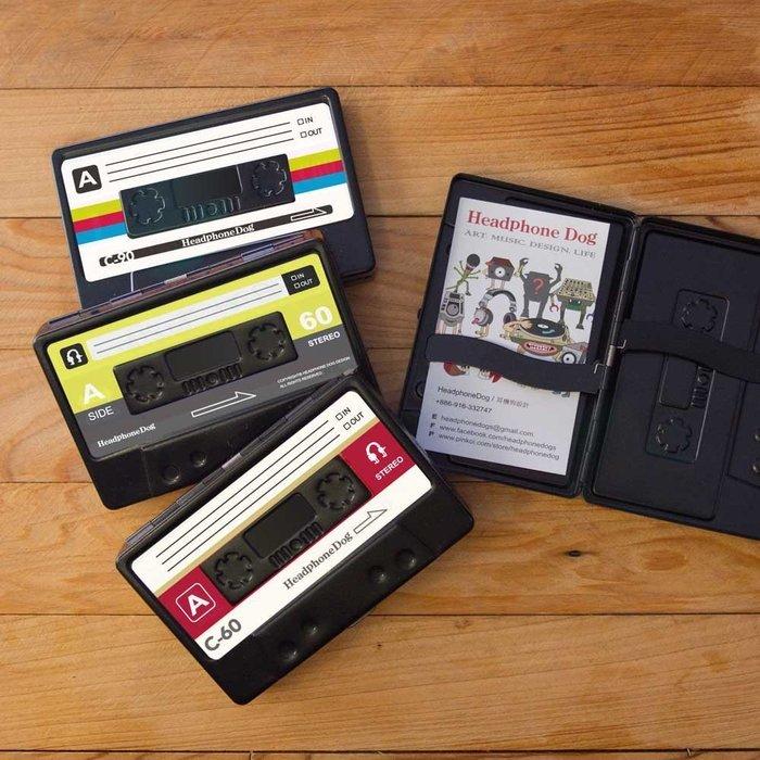 音樂搖滾 造型名片盒/煙盒 錄音帶