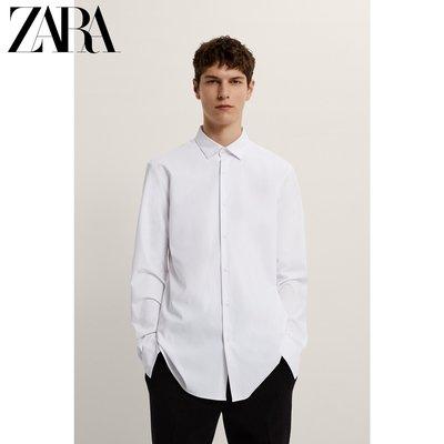 襯衫ZARA新款男裝 修身 正裝易打理...