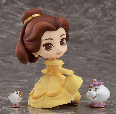 GoodSmile Nendoroid 黏土人 Disney Beauty And The Beast 美女與野獸 755 Belle