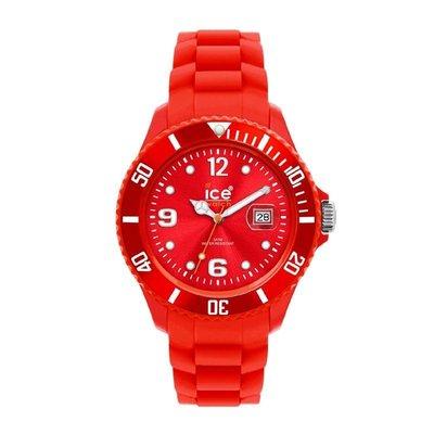 [永達利鐘錶 ] ICE watch 紅色膠帶日期錶 SI.RD.B.S.09原廠公司保固24個月 42mm