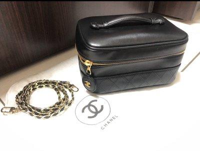 Chanel 小羊皮化妝包