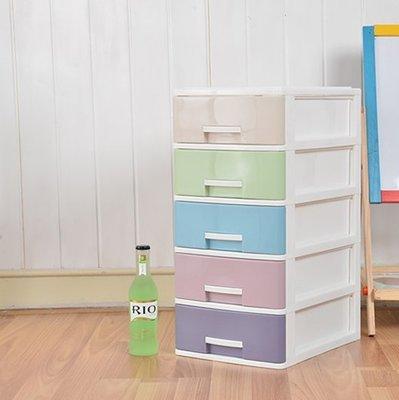 『格倫雅』桌面收納櫃塑膠抽屜式迷你儲物櫃辦公桌文件小型雜物整理櫃小盒子^3633