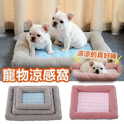 寵物涼感墊 寵物床 寵物墊 狗窩 狗床 狗狗床墊 貓窩 貓睡墊 冷氣房 寵物涼墊 寵物用品【RS955】