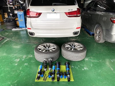JK Racing SS2 外銷海外版 2way 氮氣瓶運動版避震器 阻尼32段可調 氮氣32段 BMW F15 X5