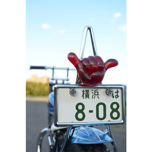 (I LOVE樂多)Hang Loose Tail Lamp Assembly for Motorcycle阿囉哈尾燈