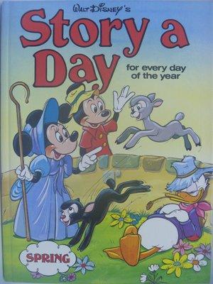 【月界二手書店】Walt Disney's Story a Day-Spring_GROLIER 〖少年童書〗AIA
