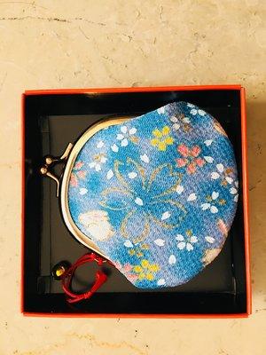日本精品小物 美麗可愛 又實用的 小錢包 放零錢 出外方便