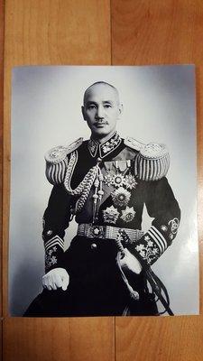 蔣中正早期軍裝照(20X15Cm)疑似胡崇賢拍攝