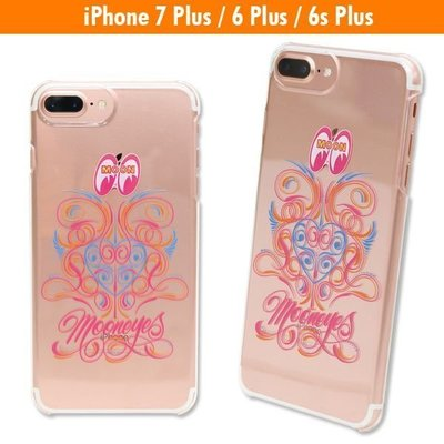 (I LOVE樂多) MOONEYES Pinstripe iPhone7 / iPhone6s Plus 可通用保護殼
