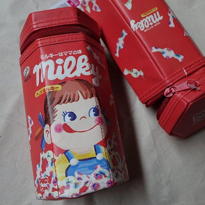 郭公館-不二家明治娃娃日本限定六角大筆袋收納包