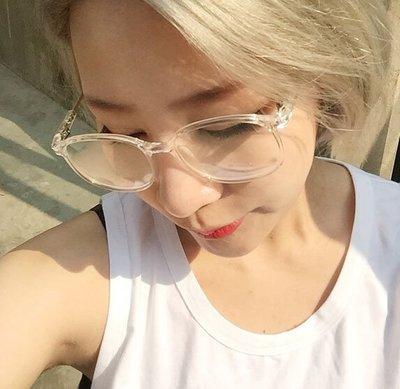 V.W SHOP 預購 街頭服飾 歐美日韓流行眼鏡 透明眼鏡 百搭
