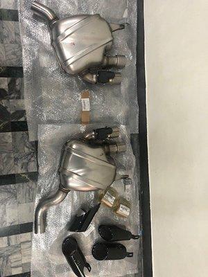 保時捷 Porsche Macan 95B 原廠選配 尾段 排氣管