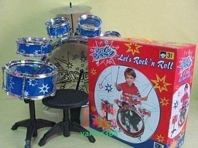 美學14012件套組合 架子鼓 電子鼓 樂器 拍拍鼓音樂玩具組合鼓12件套❖4075
