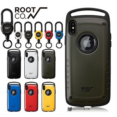 ROOT CO 2020 iPhone SE/Xs/X/XR Max/8/7 Plus掛勾式防摔保護殼+登山扣環 喵之隅