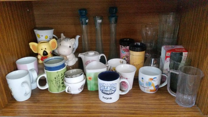 宏品二手傢俱館~家具拍賣~X5-1226-6*各式杯子一個10元/小家電.廚房器具.鍋碗瓢盆.各式器具大特價*