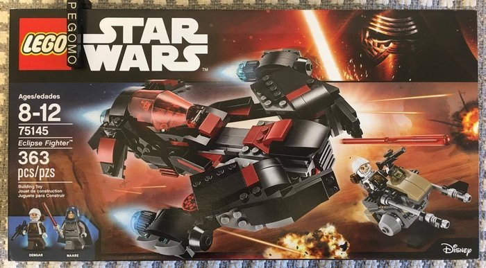 【痞哥毛】LEGO 樂高 75145 星際大戰系列 Eclipse Fighter 全新未拆