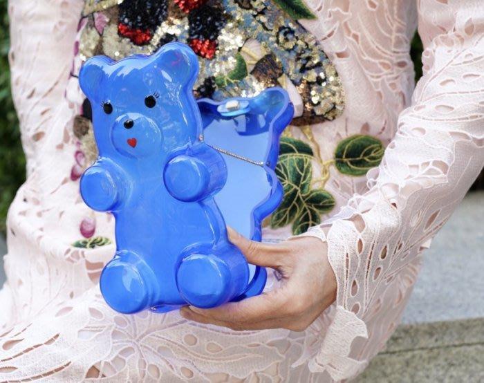 Charlotte Olympia Gummi Bear Clutch 小熊軟糖 手拿包 藍寶石