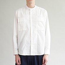 新加坡新創品牌 GRAYE 立領口袋襯衫 XL號 版型極佳 MUJI ZARA H&M 可參考