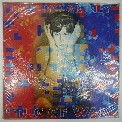 合友唱片 TUG OF WAR PAUL McCARTNEY () 保羅麥卡尼 黑膠唱片 LP 面交 自取