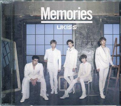 【黑妹音樂盒】U-Kiss - 難忘的回憶 Memories CD+DVD (宣傳片)  --二手CD