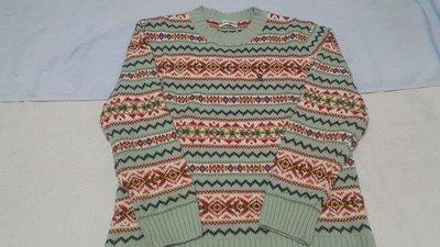 *BABY二手衣*夢特嬌專櫃~中性款羊毛毛衣150cm@男女寶貝可穿@
