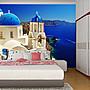 客製化壁貼 店面保障 編號F- 067 希臘海景 壁...