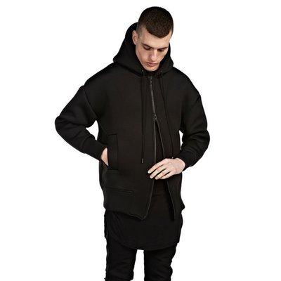 【粗賣潮流】 Represent 上下可拉鍊式 黑色 連帽拉鍊外套 (M) 二手清倉拍賣大出清 狀況:約90%新