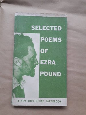 (下標即結標)(絕版,早期版)現代書局-Selected Poems Of Ezra Pound(詩集)