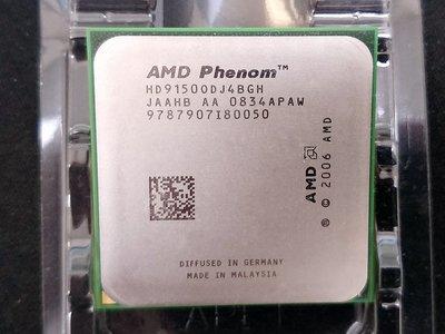 【含稅】AMD Phenom X4 9150e 1.8G HD9150ODJ4BGH 四核 65W 正式CPU 一年保