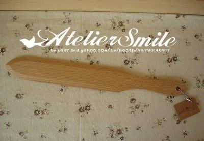 [ Atelier Smile ] 鄉村雜貨 歐洲進口櫸木 烘焙廚房專用 櫸木奶油果醬刮刀 蛋糕切刀 (現+預)