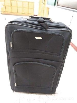 新秀麗samsonite 28吋 可擴兩層軟大黑商務行李箱 二輪登機箱 品牌設計  拉桿 滾輪正常運作 新北市