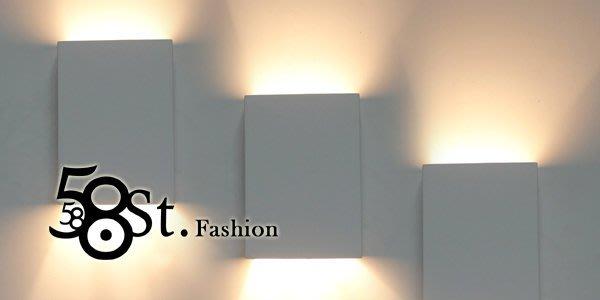 【58街】設計師新款式「磚塊光影壁燈」美術燈。複刻版。GK-353