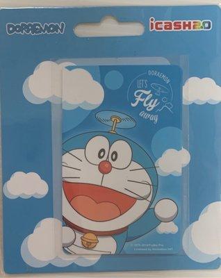哆啦a夢-FLY AWAY ICASH2.0 哆啦a夢 小叮噹 icash2.0 悠遊卡 一卡通 愛金卡 小叮噹愛金卡 小叮噹icash2.0